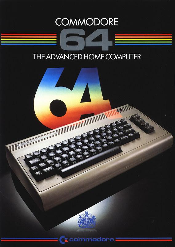 nosher net - Commodore advert: Commodore 64 - The Advanced