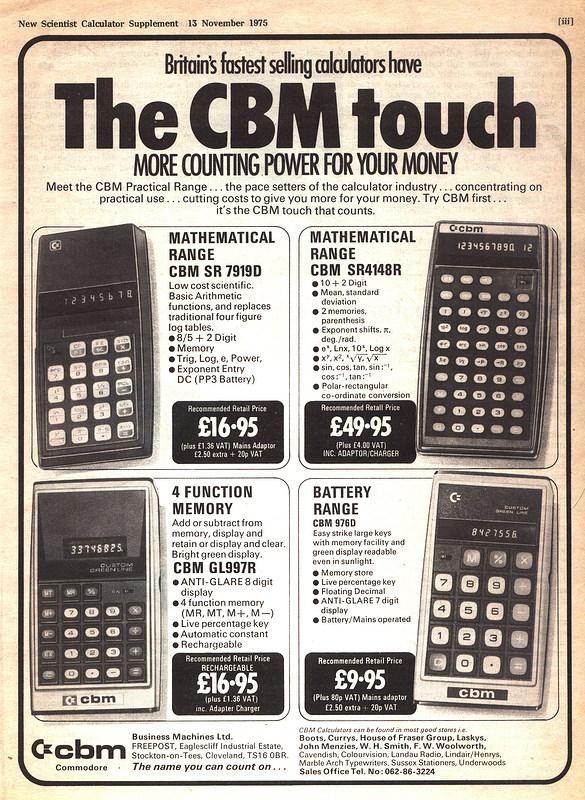 nosher net - Commodore advert: