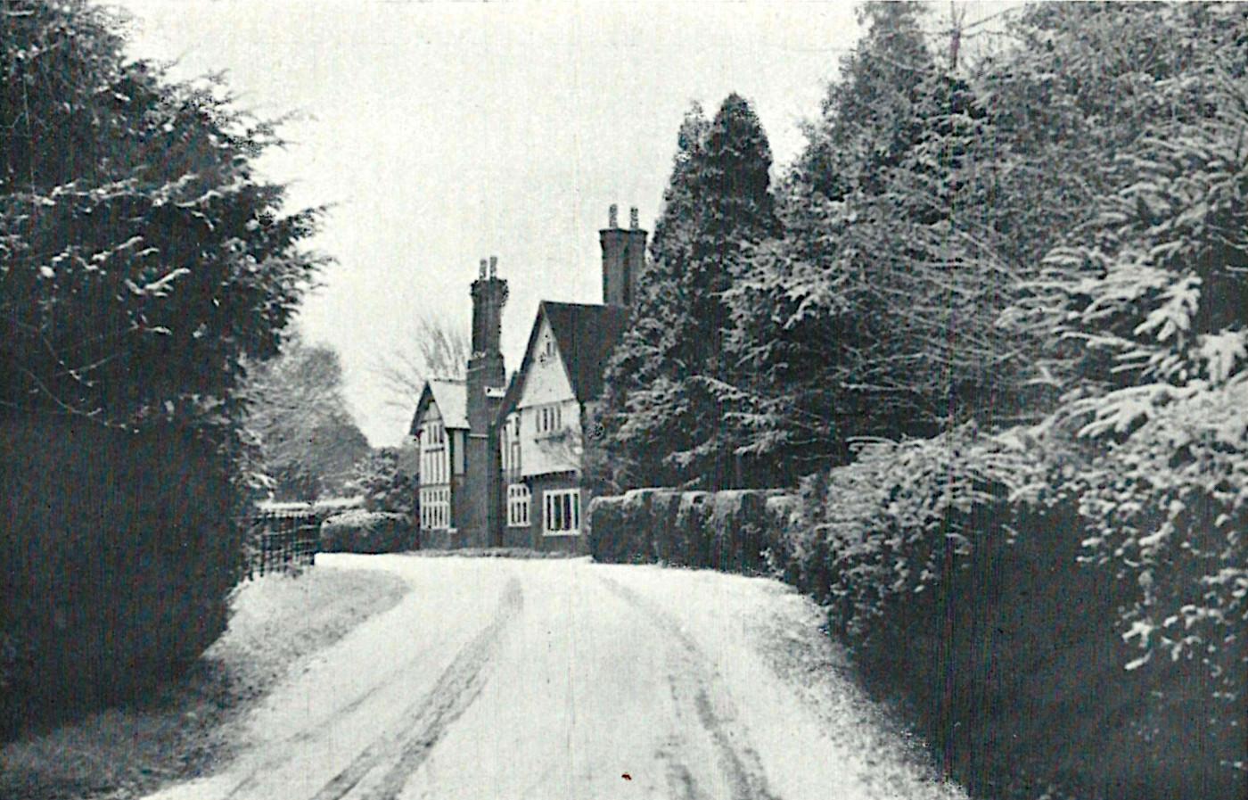 Number 2 Mess, Halton, Winter 1951/52