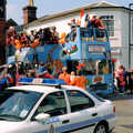 1994 The bus comes out of Roydon Road