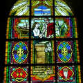 2001 A fairly modern stained glass window