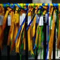 2006 Prayer ribbons outside the Dutch Protestant church, on 5th Avenue and 29th