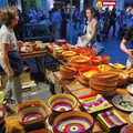 2006 Colourful ceramic pots for sale on La Rambla